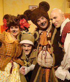 פסטיבל פסח 'אגדה על הגג' מבית התיאטרון שלנו: זהבה ושלושת הדובים